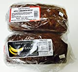 Bakery Express All Natural Apple Cinnamon Bread (1.25 lbs) and Banana Bread (1.5 lbs)