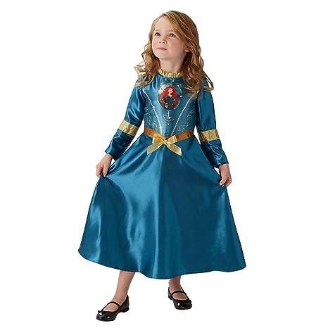 Fairtytale Mérida - Disney Princess - Disfraz Infantil - Medio - 116cm - Edad 5-6: Amazon.es: Juguetes y juegos