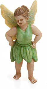 Sassy Green Fairy 3 Inch Miniature Fairy Garden Resin Figurine