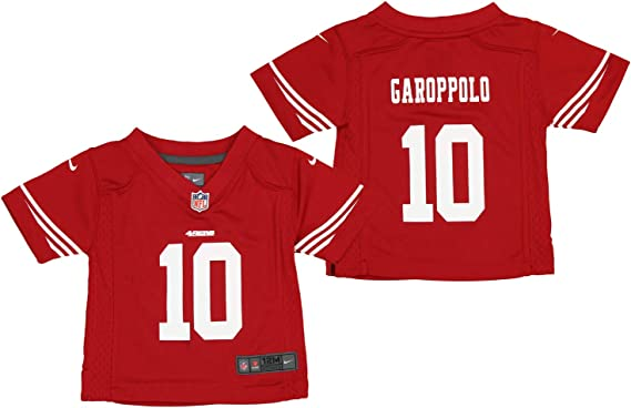 Nike NFL San Francisco 49ers Infants and Toddlers Jimmy Garoppolo Red Game Jersey