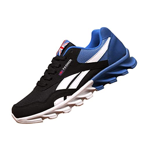 Zapatos Casuales de los Hombres Cuatro Estaciones de Moda cómodas Zapatillas para Adultos Resistentes al Desgaste: Amazon.es: Zapatos y complementos