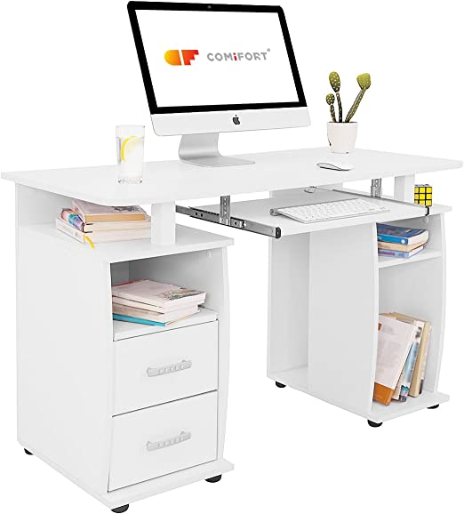COMIFORT T05B - Mesa de Ordenador, Escritorio, Mesa de Oficina ...