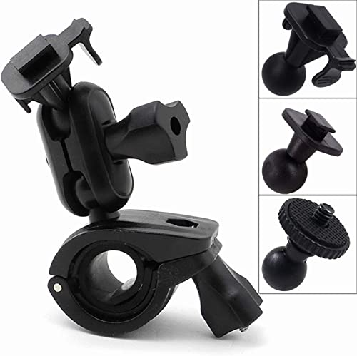 iSaddle CH214 Car Rearview Mirror Mount Holder Bicycle Handlebar Mount Holder for GPS in Dash Camera Car DVR Recorder DOD PAPOAGO HP Yi Blackbox.