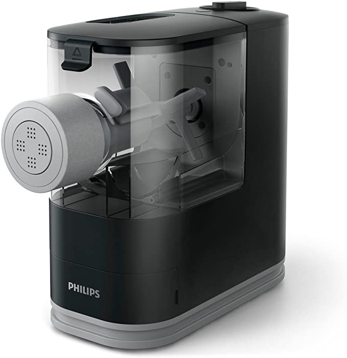 Amazon.com: Philips Kitchen Appliances Philips Compact Pasta Maker, Viva Collection, Black, Small: Kitchen & Dining