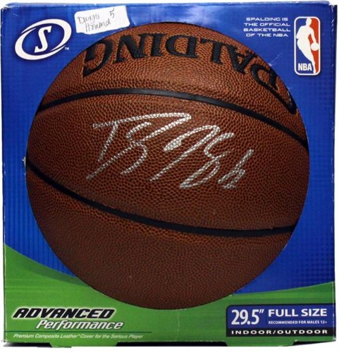Encore Select 712-11 Dwight Howard Autographed Basketball by Encore
