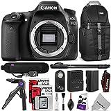 Canon EOS 80D DSLR Camera Body w Advanced Photo and Travel Bundle