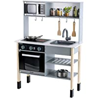 Theo Klein 7199 Miele Kitchen, Wood (MDF), White, Midi, Toy, Multicolour