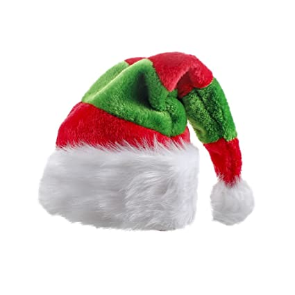 baf0ef810 Image Unavailable. Image not available for. Color: Christmas Santa Claus Hat  ...