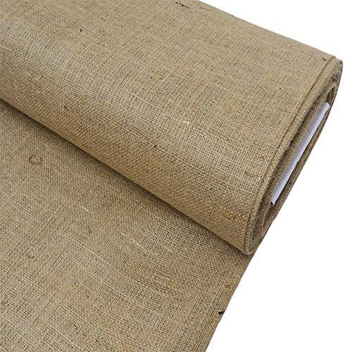 Burlap Fabric 38 40 Natural Decoration product image