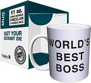 The Office Dunder Mifflin - World's Best Boss - 11oz Mug