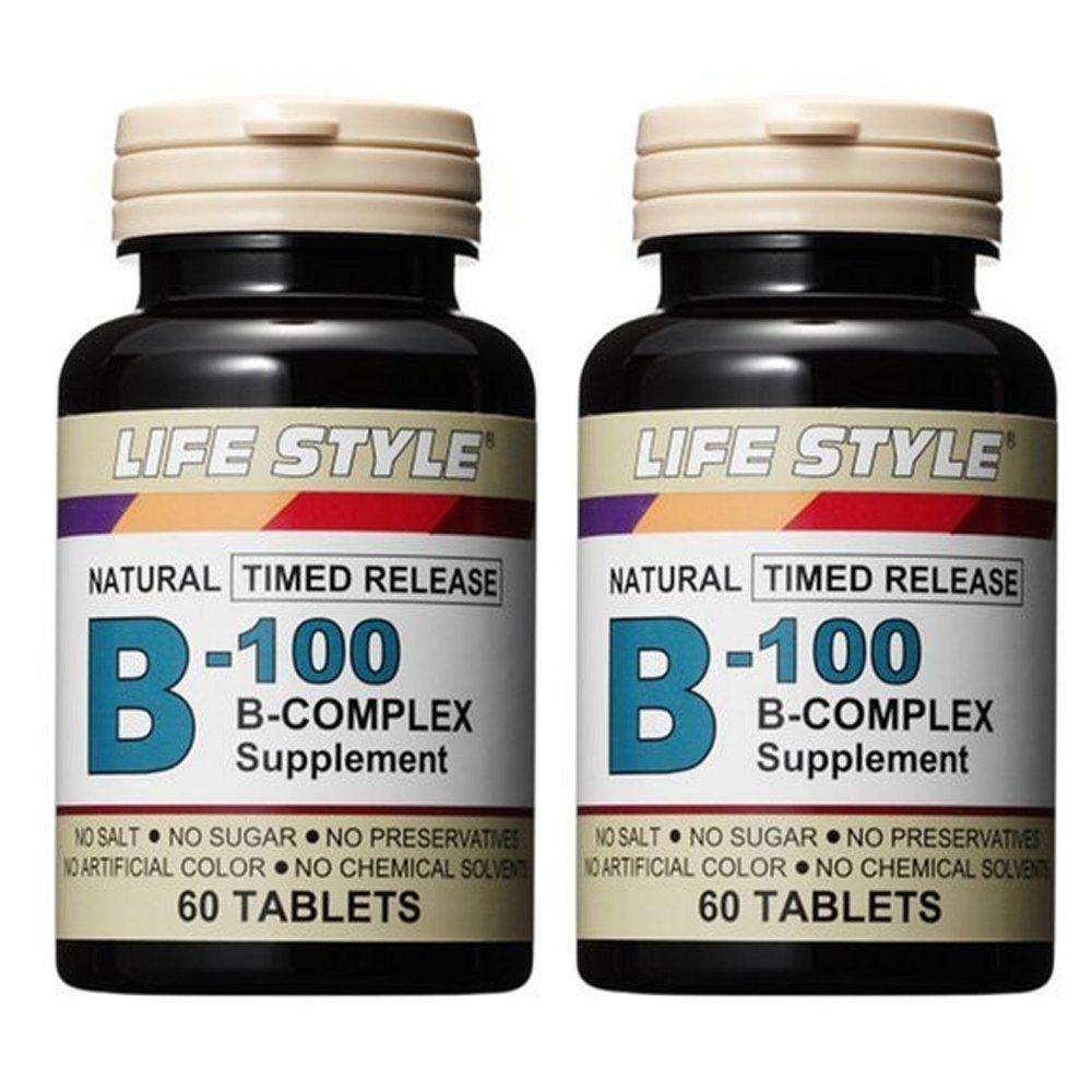 ライフスタイル(LIFE STYLE) ビタミンB-100 2個セット B071CV5QJ9   2個