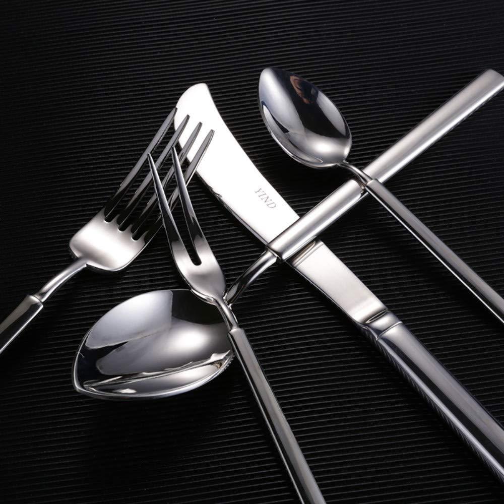Cuchillos mixtos de lujo de 5 piezas Sets Cuchillo Cuchara ...