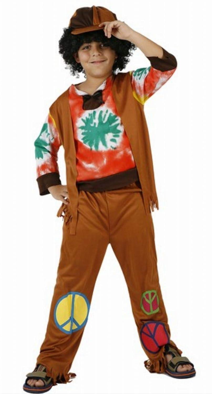 Desconocido Disfraz de hippie para niño: Amazon.es: Juguetes y juegos