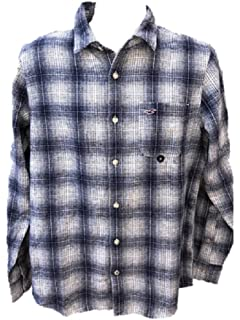 Hollister - Camisa Casual - para Hombre Azul Blanco Medium