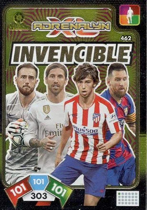 Panini Card Invencible Balón de Oro Adrenalyn XL 2019 2020: Amazon ...