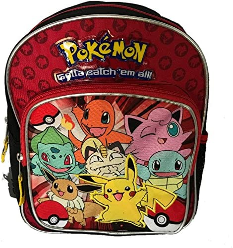 Amazon.com  Pokemon Toddler Backpack Bag - Not Machine Specific ... ee109375c2e59