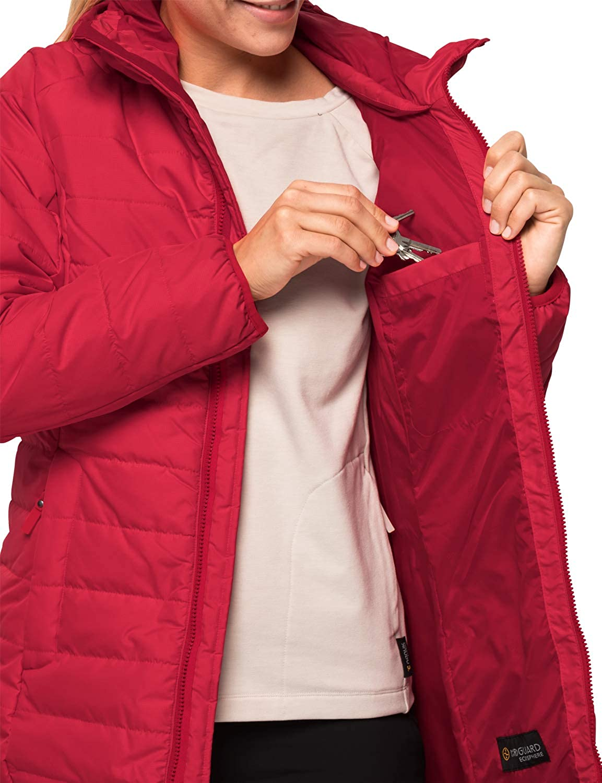 Jack Wolfskin Maryland Mantel Femme Mantel Femme ruby red