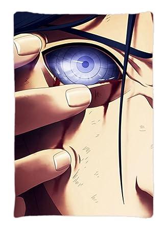 Amazon.com: Ninja Uchiha Sasuke ojos Custom tamaño estándar ...