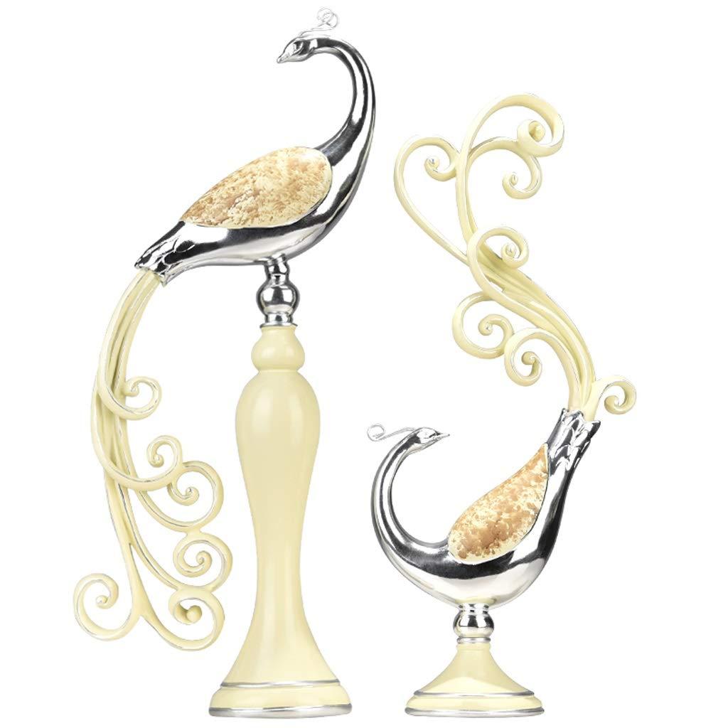 ヨーロッパのフェニックス装飾品工芸品クリエイティブ人格ロマンチックなリビングルームワインキャビネットテレビキャビネットホームデコレーションウェディングギフト (色 : B) B07QRYQH98 B