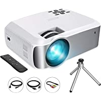 VicTsing Mini Projector 1080P Supported with 3600 Lumens