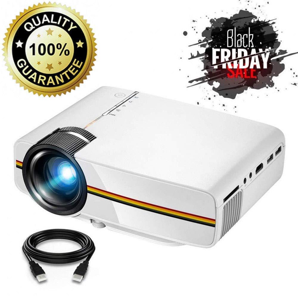 Mini proyector Proyector portátil de películas Multimedia ...