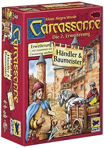 Hans Im Glück - Carcassonne : Händler & Baumeister