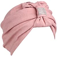 DK66 La mujer cancer chemo sombrero beanie bufanda
