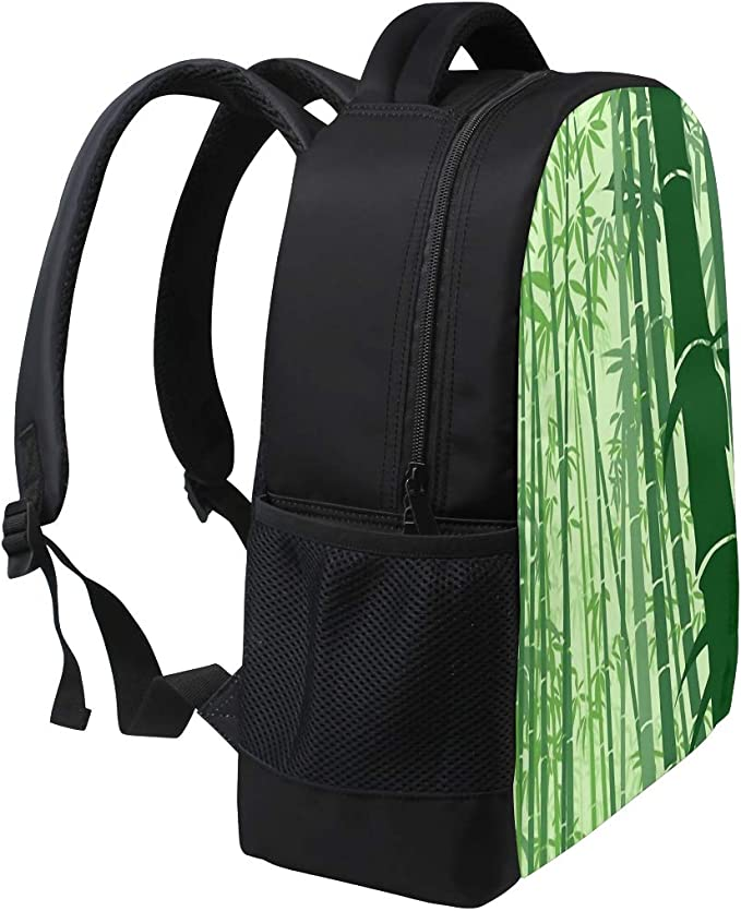 FANTAZIO Amazing Green Bamboo Forest Suitcase Protective Cover Luggage Cover
