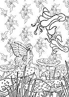 Coloriage Anti Stress Visage.Forets Feeriques 100 Coloriages Anti Stress Amazon Fr