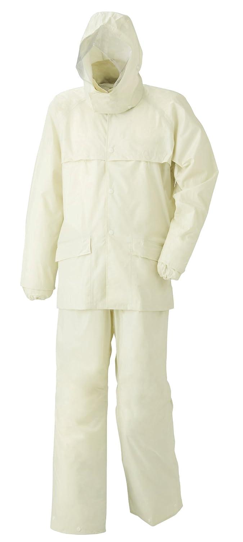スミクラ ストリートシャワースーツ 全2色 全5サイズ 上下スーツ アイボリー S 防水 収納袋付き 反射テープ付き [正規代理店品] B019RVPXXG Small|アイボリー アイボリー Small