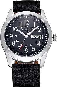 Tela de moda Gison com relógio masculino com calendário