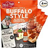 Cheap Field Trip Gluten Free High Protein Chicken Jerky Bites, Spicy Buffalo Style, 4 Count