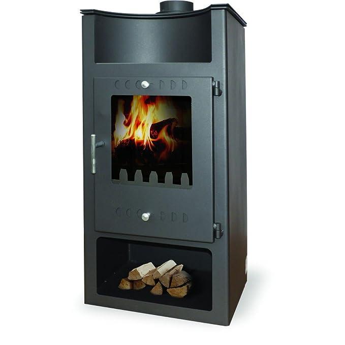 Caldera de leña estufa zvezda, Modelo A Través De VR 9, salida de calor 15 kW: Amazon.es: Bricolaje y herramientas