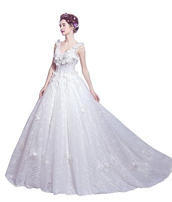 3430f9b62ecf8 ウエディングドレス 花嫁 編み上げ 二次会 ドレス 結婚式 ドレス エンパイア エンパイアライン・パールと刺繍