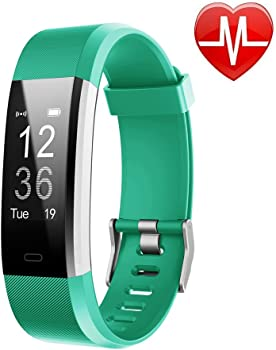 Letscom Waterproof Fitness Activity Tracker with Heart Rate Monitor