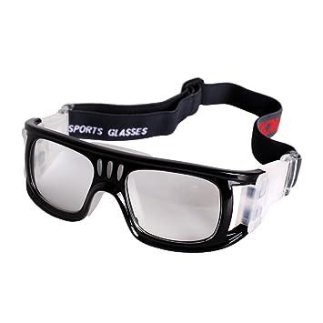 afcb4a4788 Andux Baloncesto Fútbol Fútbol Deportes Gafas protectoras gafas Gafas de seguridad  LQYJ-01 (Negro): Amazon.es: Deportes y aire libre