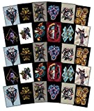 Super Fun Stop 30 Large Marvel Avengers Infinity War Stickers for Party Favor / Gift - Featuring Iron Man, Captain America, Black Panther, Black Widow, Thanos and many more (30pc)