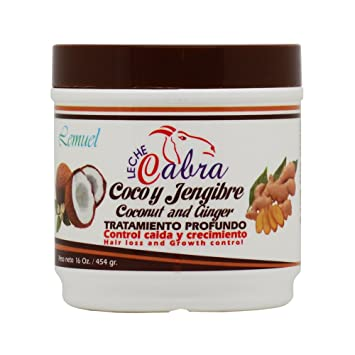 Lemuel Leche Cabra Coconut and Ginger Treatment 16oz
