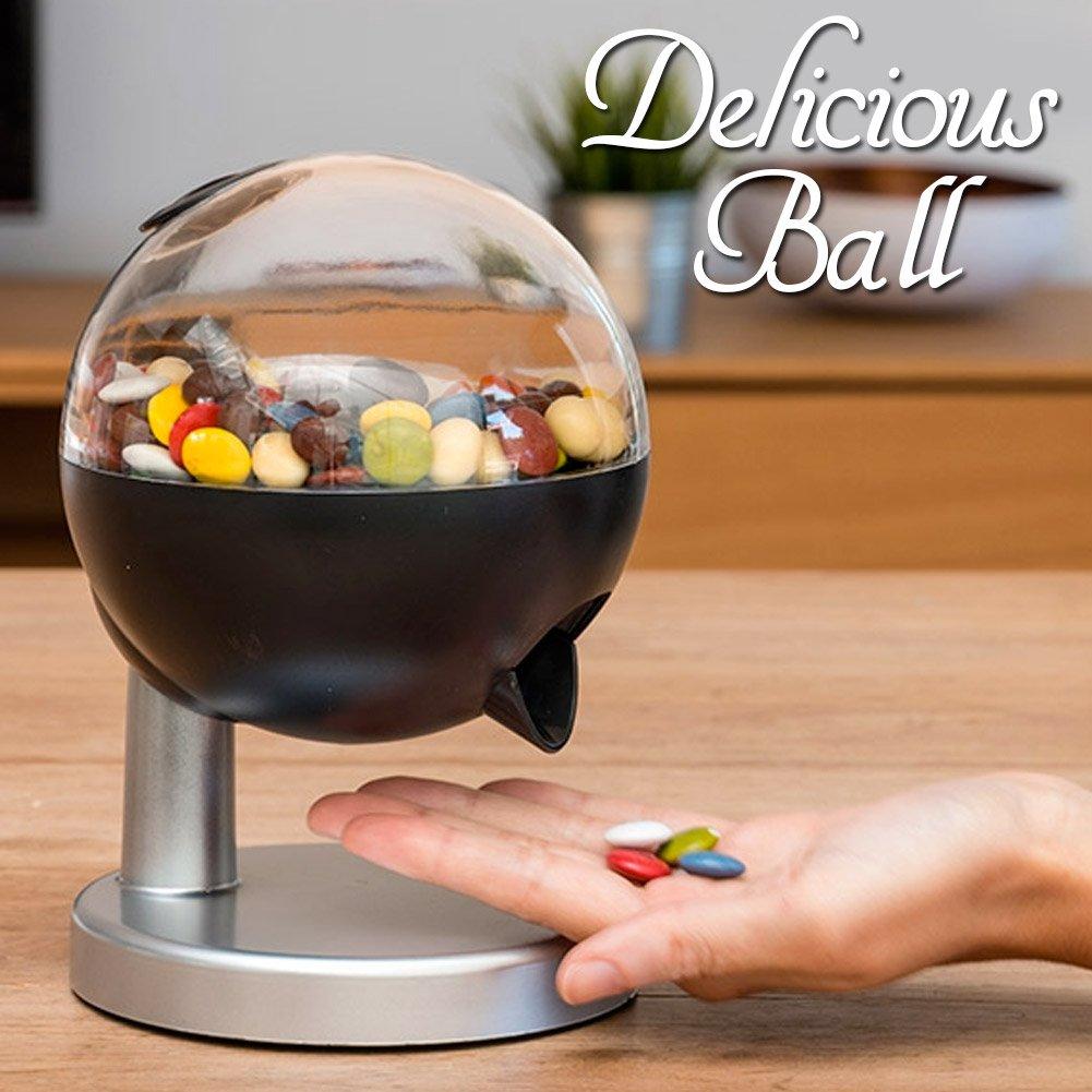 arachidi e Noccioline Delicious Ball dispenser automatico di caramelle Bakaji Dispenser di Caramelle Frutta Secca Mini Dolce o Salato con Sensore Funzionamento a Batterie cioccolatini
