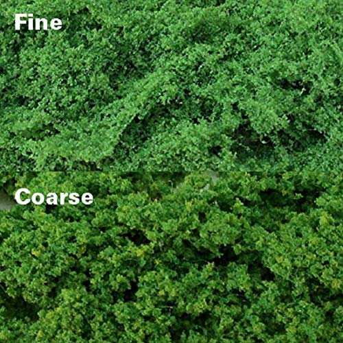 MP Scenery 70922 - Light Green Clump Foliages - Coarse, Pack of 150 Sq. in.