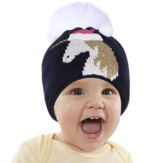 Amazon.com  Toddler Baby Beanie Hat Unicorn Hat Winter Knit Plush Soft  Fuzzy Hat for Kids  Clothing f116847bc79