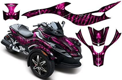 CreatorX Can-Am Brp Spyder Rs Gs Hood Graphics Kit Decals SpiderX XL Purple