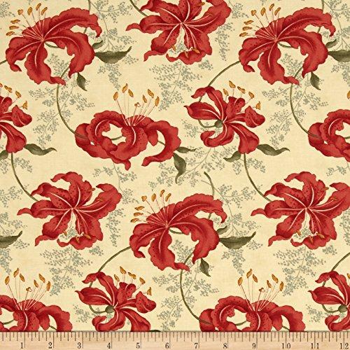 Moda Lilies of the Field Tiger Lily Hemp Fabric