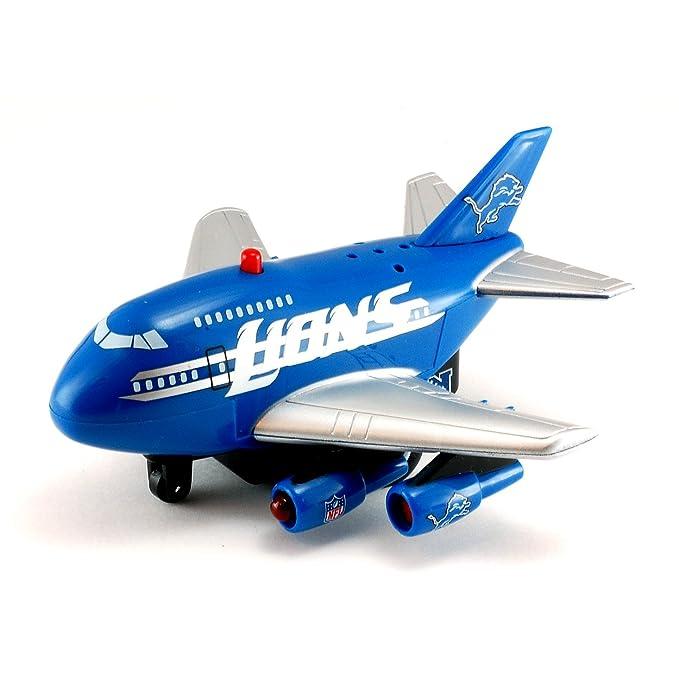 Amazon.com: NFL Detroit Lions 2012 Pull Back Plane Die Cast ...
