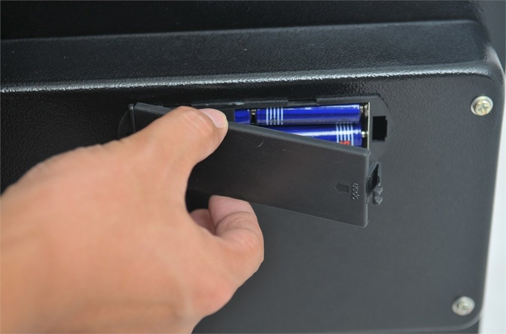 Homegear Large 1.8CF Electronic Safe Security Box for Pistols Money Jewelry Passport by Homegear (Image #5)