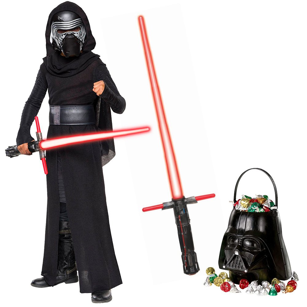 Star Wars Darth Vader Deluxe Child Kit Costume Halloween NEW