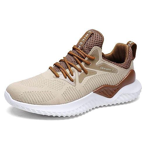 Zapatillas Running Casual Sneakers Zapatos Correr Calzados Deportivo para Hombre Mujer Negro Rojo Verdes 39-46: Amazon.es: Zapatos y complementos