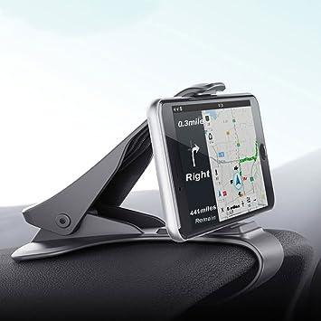 Soporte para teléfono de coche -SEAMETAL Soporte para móvil soporte de coche Pinza sujeta móvil