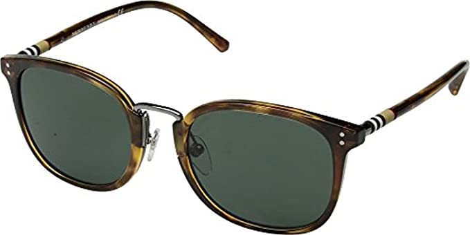 5826a5c81d9 Amazon.com  Burberry Men s 0BE4266 Brown Havana Green One Size  Clothing