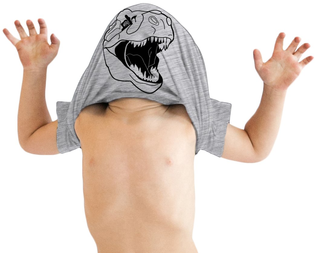 d869df32 Toddler Ask Me About My Trex T Shirt Funny Cool Dinosaur Flip Up Tee for  Kids (Grey) - 5T - 015TrexFlipGREY-TOD-5T < Baby Boys < Clothing, Shoes &  Jewelry - ...